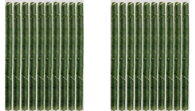 20 baumschutzspiralen aus witterungsbest ndigem kunststoff 60 cm lang gelocht farbe gr n. Black Bedroom Furniture Sets. Home Design Ideas
