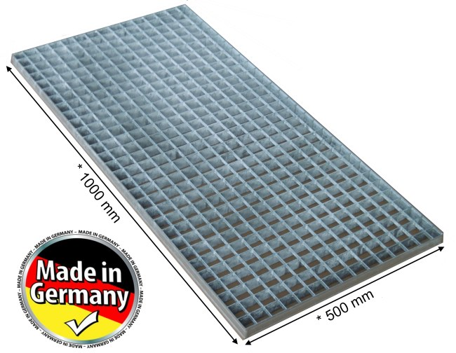 Abdeckung lichtschacht gitter rost 1000 x 500 mm norm vreden for Rost gitter garten
